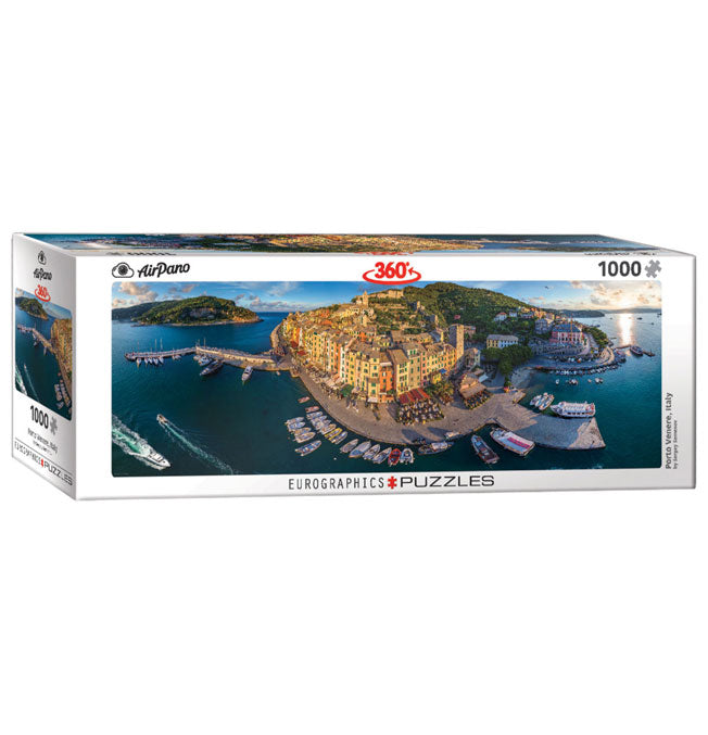 Porto Venere, Italy - Panoramic 1000 pieces