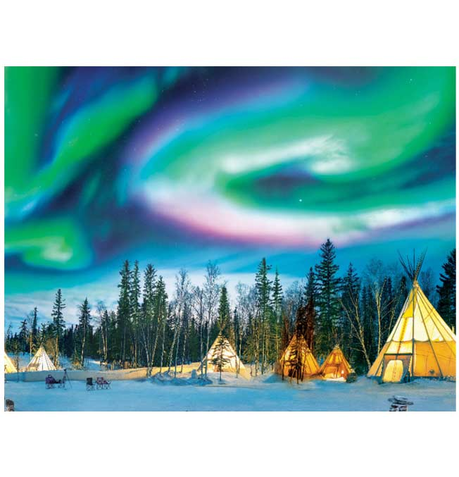 Northern Lights - Puzzle 1000 pieces