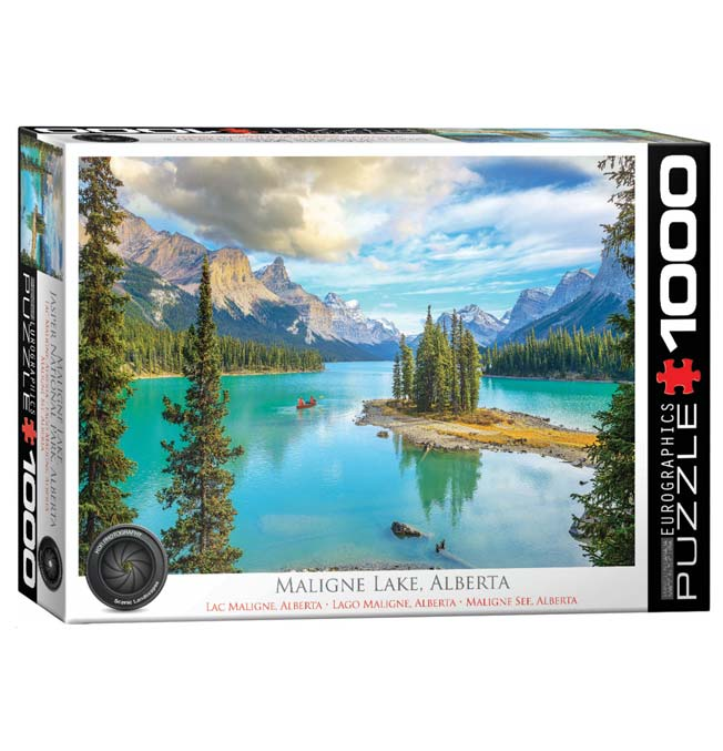 Maligne Lake, Alberta - Puzzle 1000 pieces