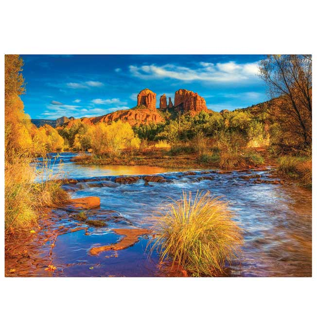 Red Rock Crossing, Arizona - Puzzle 1000 pieces