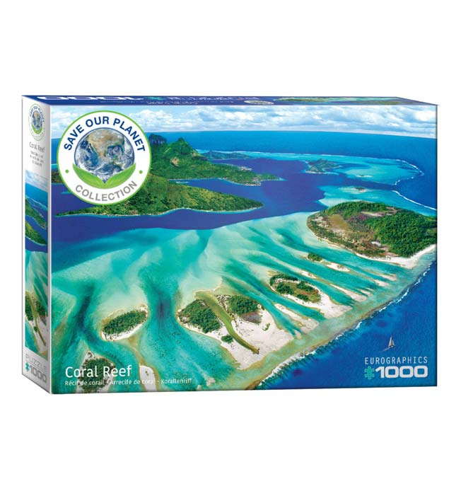 Coral Reef Puzzle - 1000 pieces