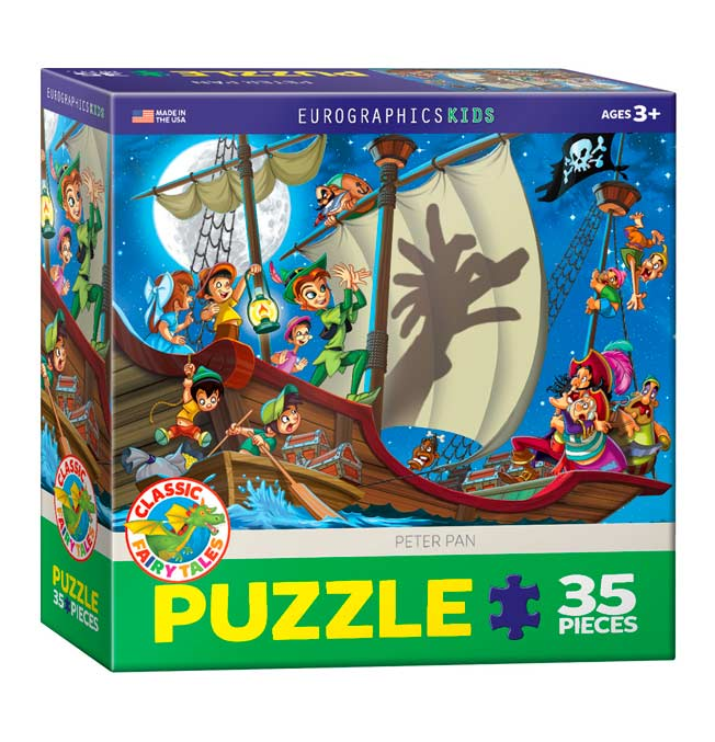 Peter Pan - Puzzle 35 pieces