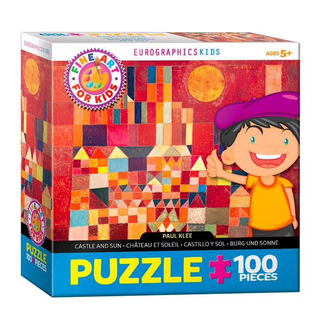 Castle and Sun - Puzzle 100 pieces