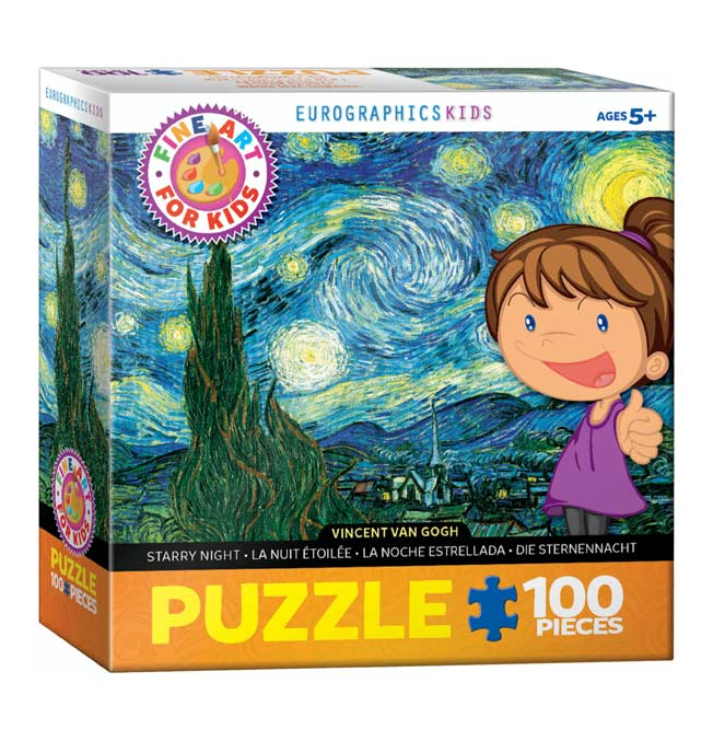 Starry Night - Puzzle 100 pieces