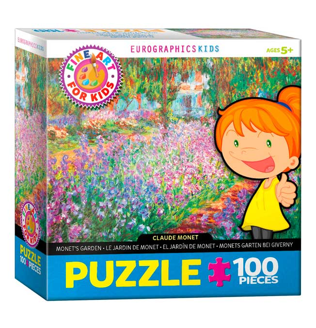 Monet's Garden - Puzzle 100 pieces