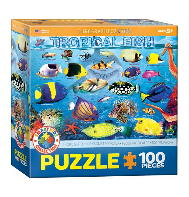 Tropical Fish - Puzzle 100 pieces