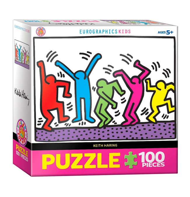 Dancing - Puzzle 100 pieces