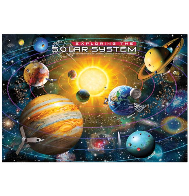 Exploring The Solar System - Puzzle 200 pieces