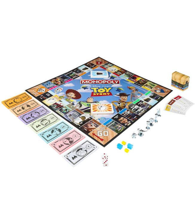 Game Monopoly Toy Story Bilingual