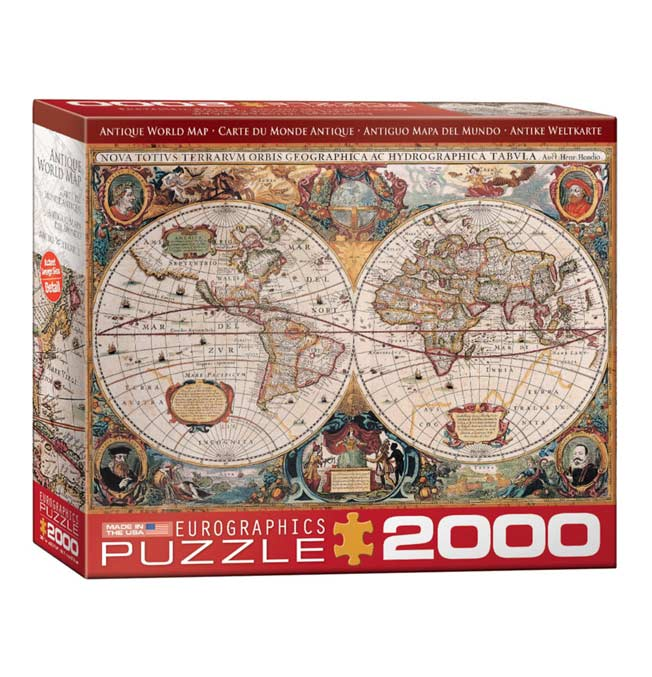 Orbis Geographica World Map - Puzzle 2000 pieces