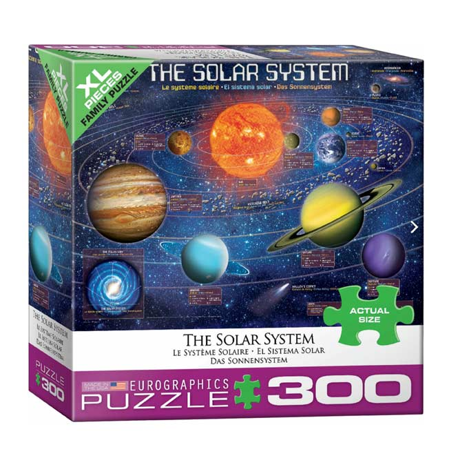 The Solar System - Puzzle 300 pieces