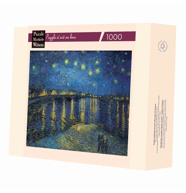 Starry Night Over the Rhone - Van Gogh - Puzzle 1000 pieces