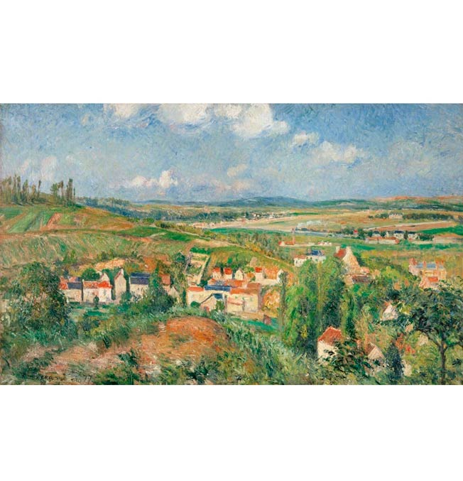 The Hermitage in Summer - Pissarro - Puzzle 1200 pieces