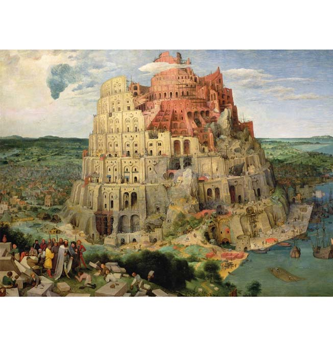 Babel Tower - Puzzle 1000 pieces