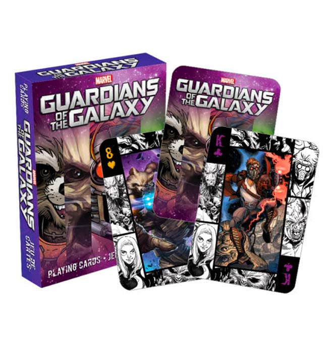 Guardians of the Galaxy - Playing Cards