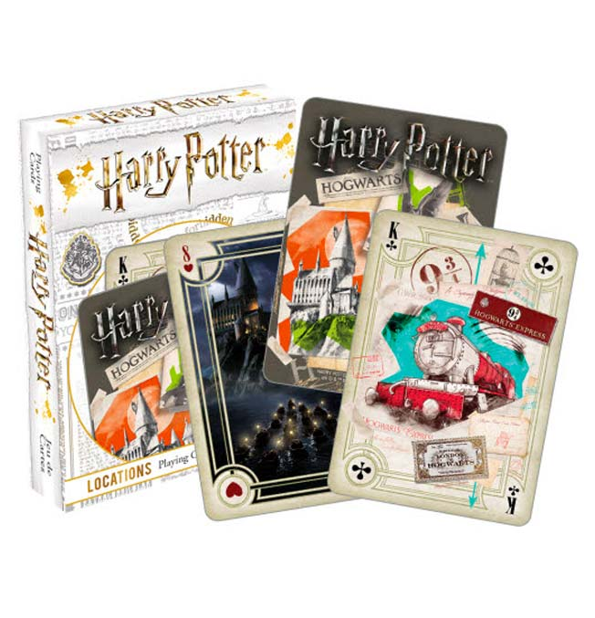 Harry Potter -  Locations Playing Cards