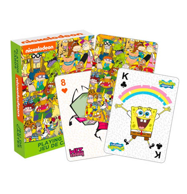 Nickelodeon - Playing Cards