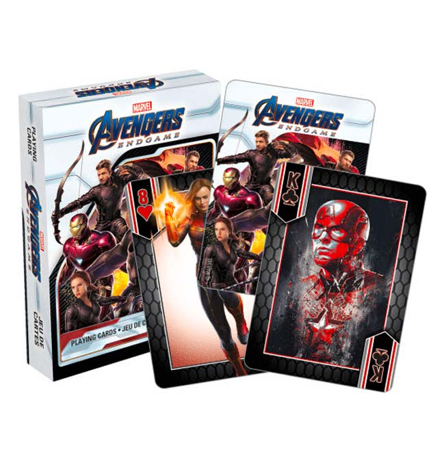 Avengers Endgame - Playing Cards