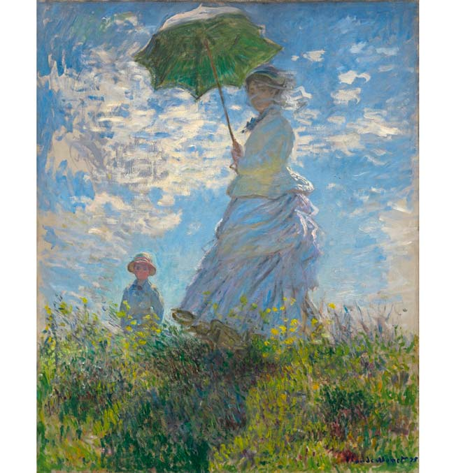 Woman with a Parasol - Monet - Puzzle 1000 pieces