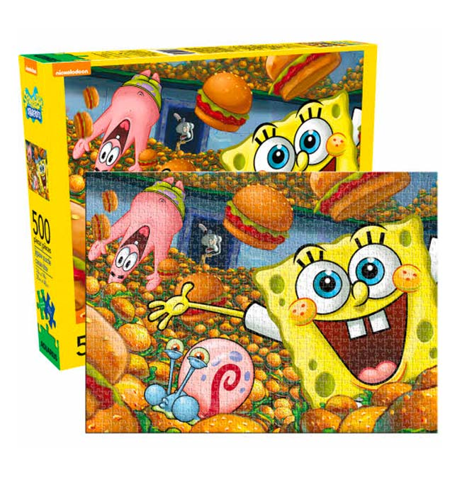 SpongeBob -  Puzzle 500 pieces