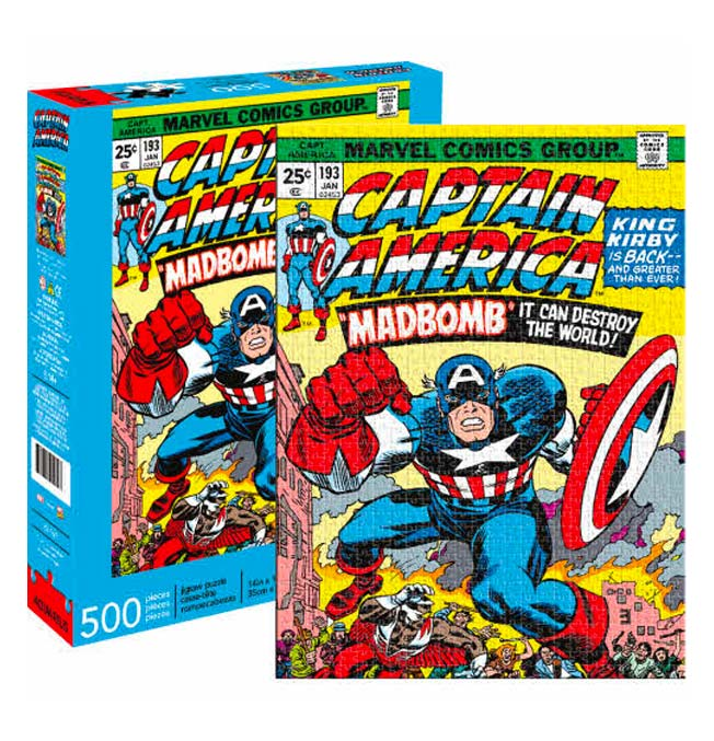 Captain America Puzzle 500 pieces