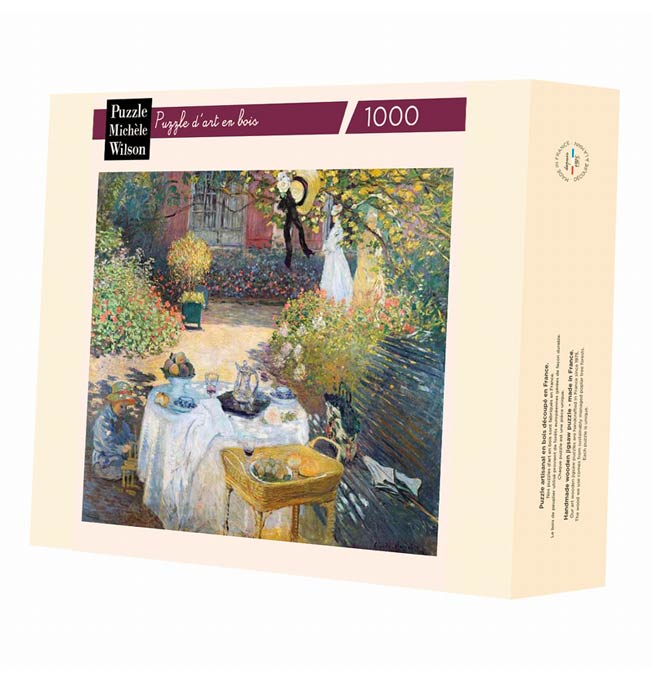 The Lunch - Monet - Puzzle 1000 pieces