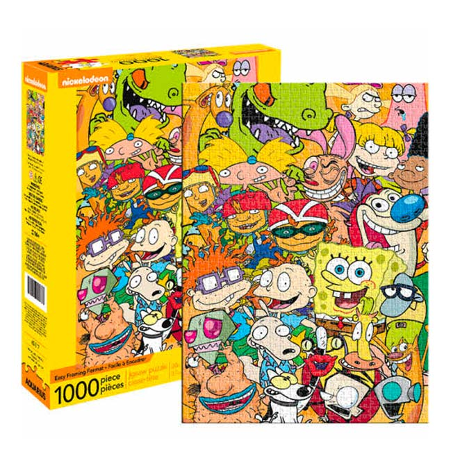 Nickelodeon 1000 Puzzle pieces