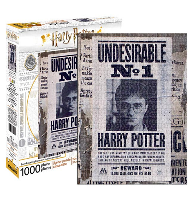 Harry Potter™ Undesirable Puzzle 1000 pieces