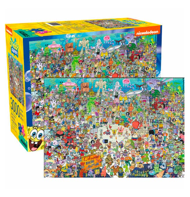 SpongeBob 3000 Puzzle pieces