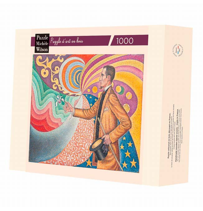 Portrait of Felix Fénéon - Signac - Puzzle 1000 pieces