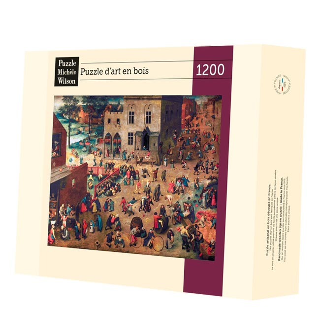 Children's Games - Bruegel - Puzzle 1200 pieces