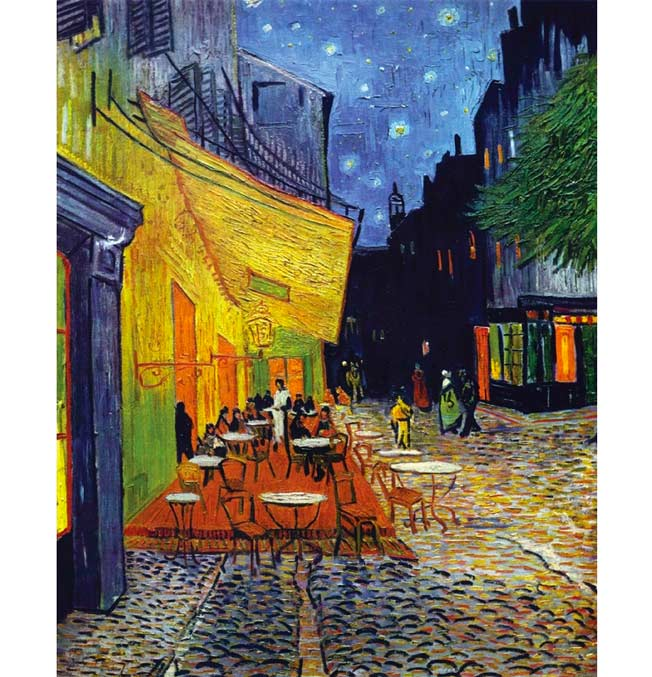Café Terrace at Night - Van Gogh - Puzzle 1000 pieces