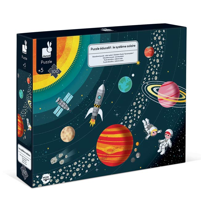 Educational Puzzle Solar System