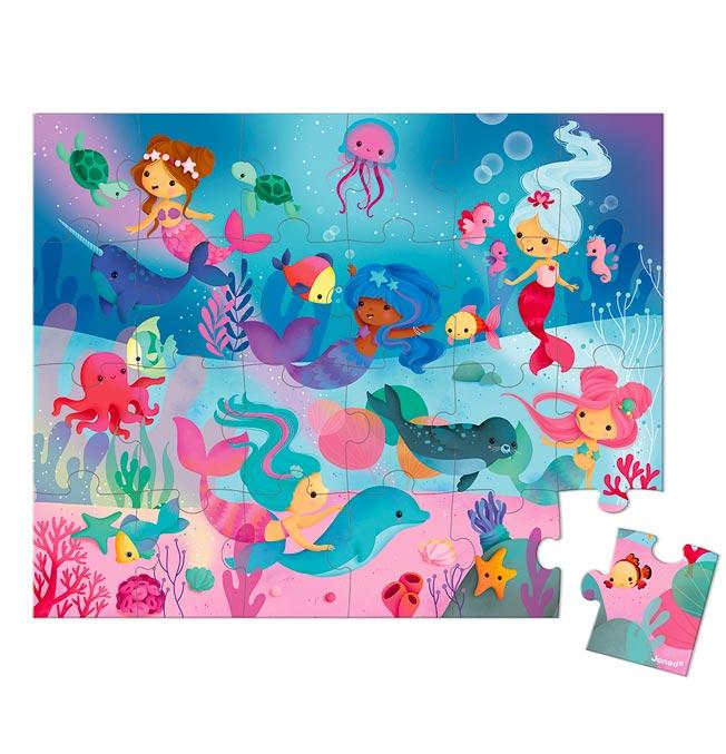 Puzzle Mermaid 24 pcs