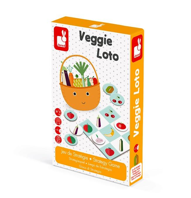 Strategy Game - Veggie Loto