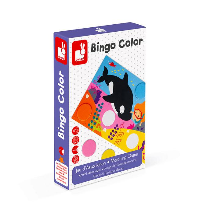 Matching Game - Bingo Color
