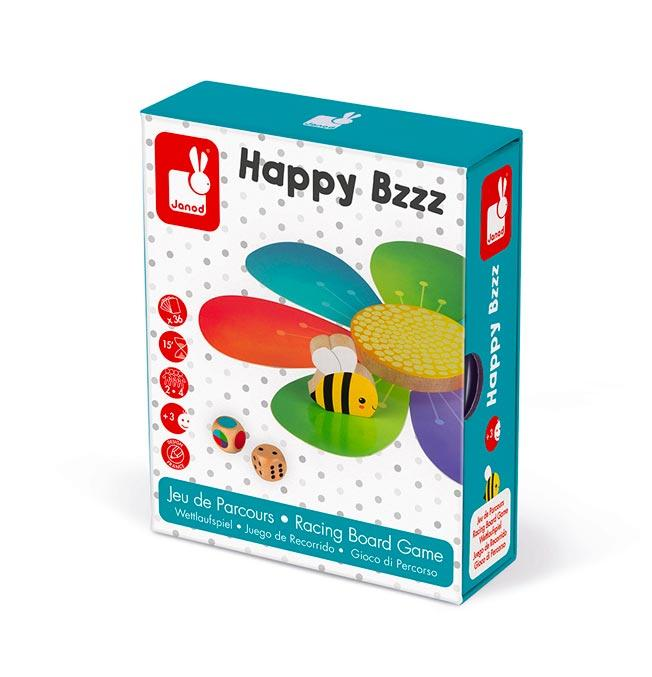 Racing Board Game - Happy Bzz