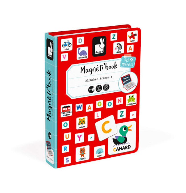 French Alphabet Magneti'Book - 142 magnets