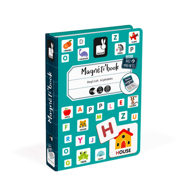 English Alphabet Magneti'Book - 142 magnets