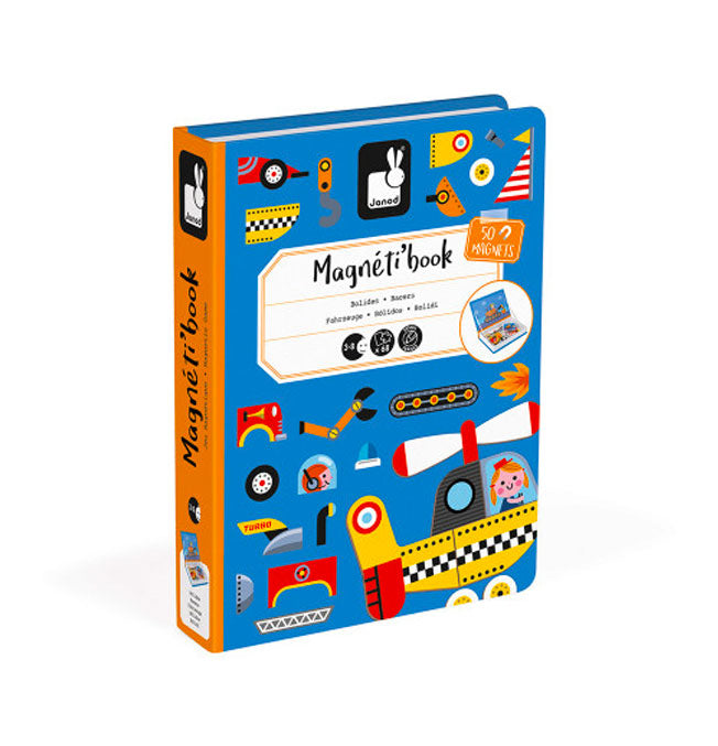 Racers Magneti'Book - 50 magnets