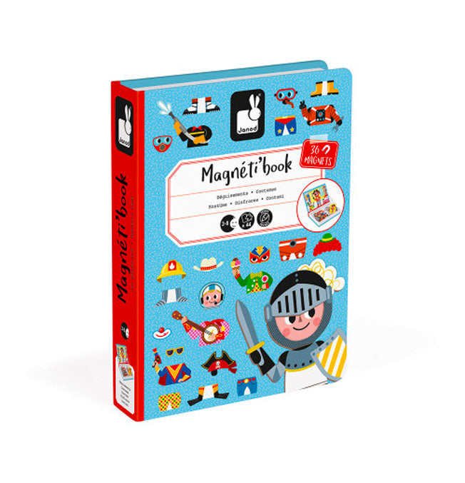 Boy's Costumes Magneti'Book - 36 magnets