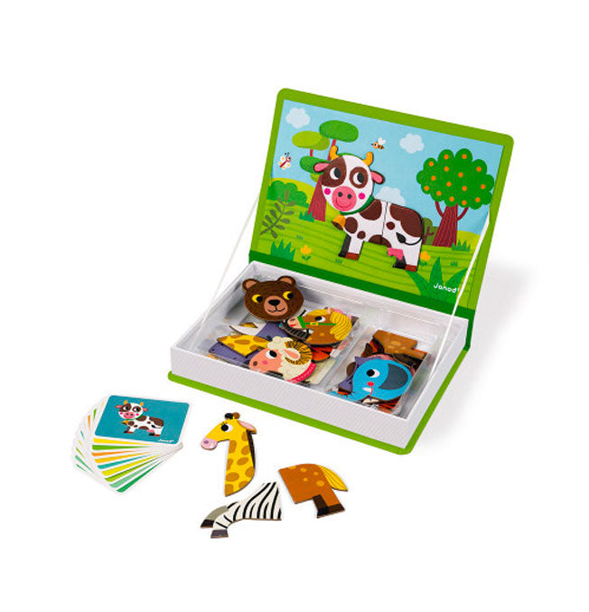 Animals Magneti'Book - 30 magnets