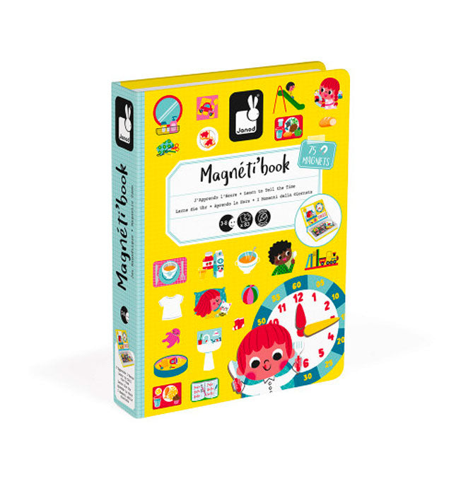 Learn to Tell the Time Magneti'Book - 75 magnets