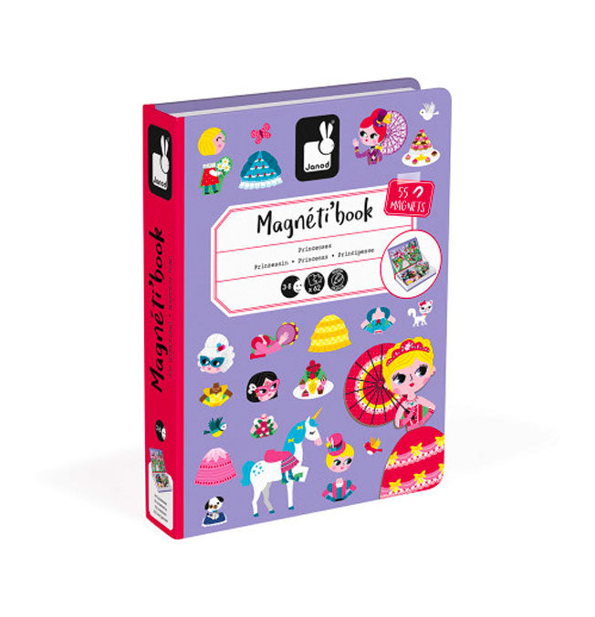 Princesses Magneti'Book - 55 magnets