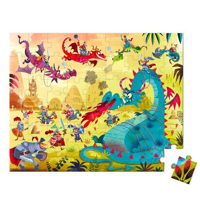 Dragon Puzzle 54 pcs