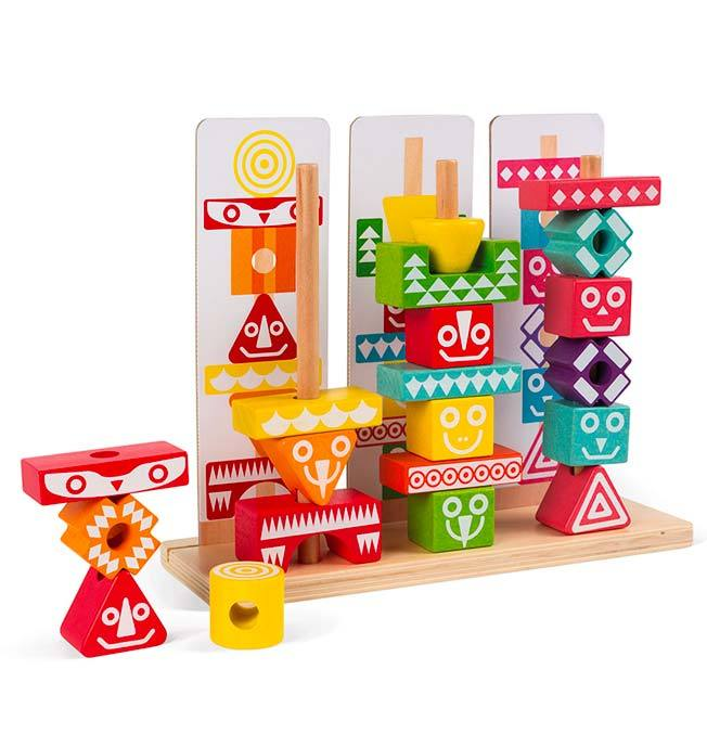 Iwood Edutotem Stackable Pieces