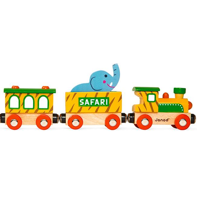 Story Train Safari