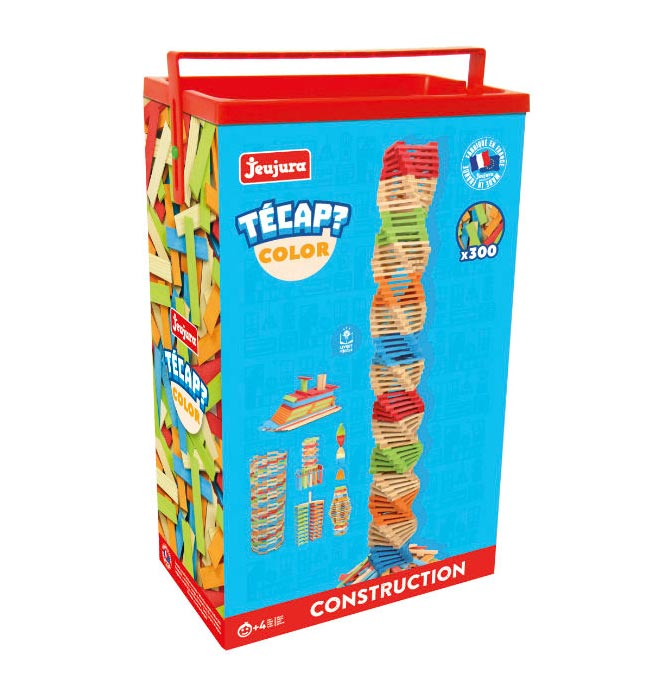 Construction - TECAP Colour Construction Set 300 pcs