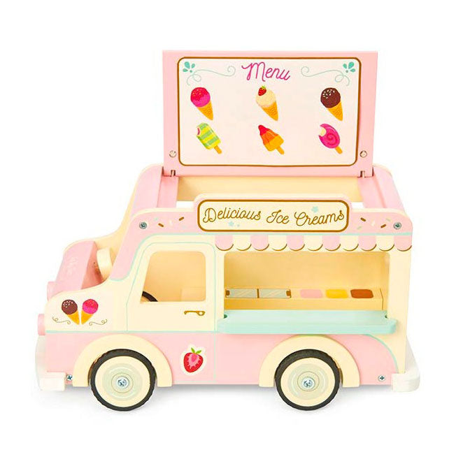 Dolls Vintage Ice Cream Van