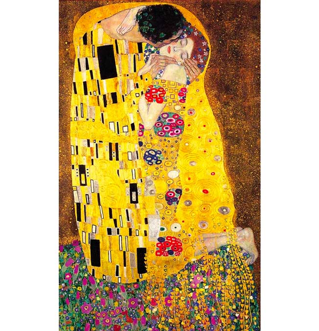 The Kiss - Klimt - Puzzle 1000 pieces